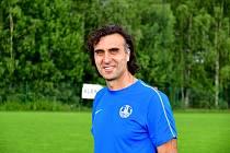 Jindřich Hefner, trenér FK Ostrov.