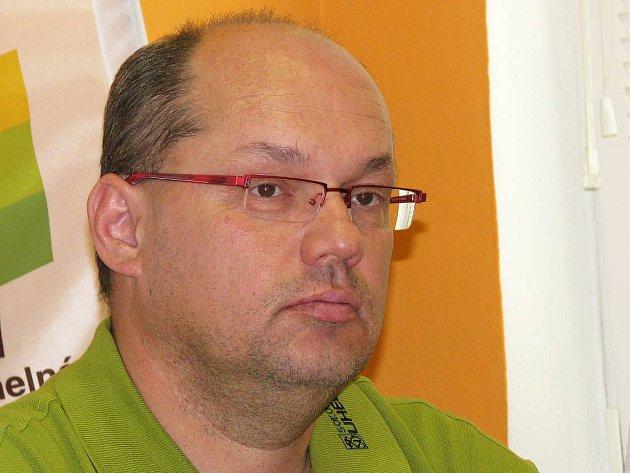 Generální manažer HC Energie Miroslav Vaněk.