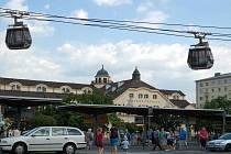 Lanovka spojující Horní nádraží s Tržnicí by byla atrakcí. Zůstane ale jen u studie.