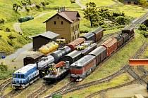 Výstavu vláčků a železničních modelů najdete v Lidovém domě.