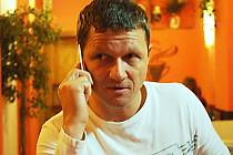 Ivan Vrzal z Karlových Varů byl 17. listopadu 1989 na Národní třídě v Praze.