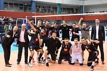 Volejbalisté Karlovarska si dojeli do Běloruska pro postup mezi šestnáct nejlepších týmů Challenge Cupu.