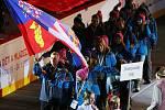 Hry zimní Olympiády dětí a mládeže zahájení KV Aréna