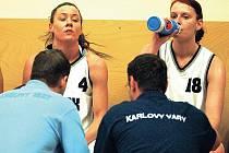 Smutný víkend mají za sebou basketbalistky karlovarské Lokomotivy, po porážce se Slovankou Mladá Boleslav se jim rozplynul sen o zisku medaile.