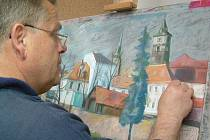 V řadě akcí letošního kulturního podzimu by neměla zapadnout výstava, která karlovarské kulturní veřejnosti objevuje plzeňského malíře Jiřího Končela.