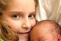 Max Toth z Chodova se narodil 25. 1. 2012