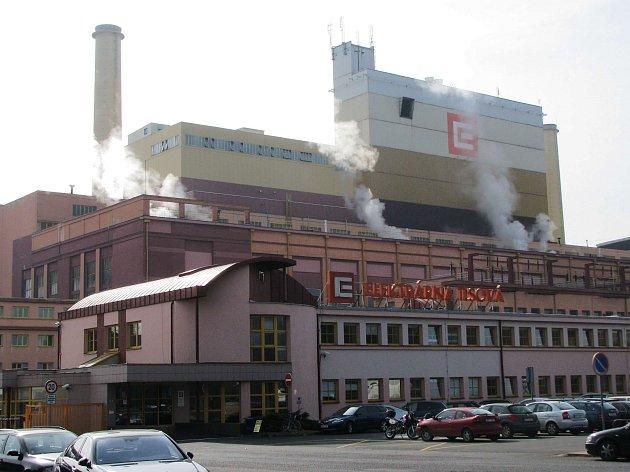 Elektrárna ČEZ v Tisové u Sokolova.