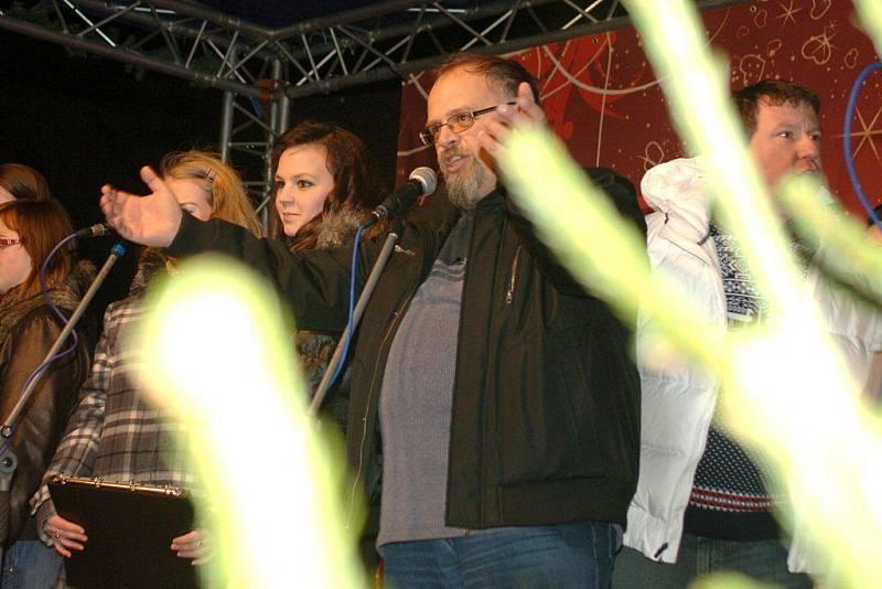 Zpívání koled v Karlových Varech