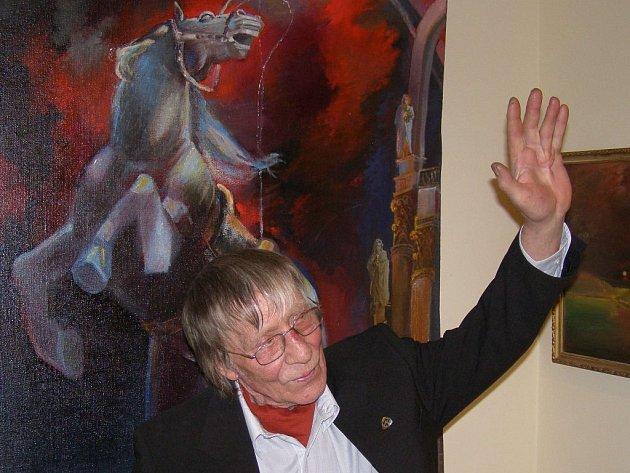 MONUMENTÁLNÍ MALBY ruského umělce žijícího nyní v České republice mohou zhlédnout návštěvníci Galerie Imperial.