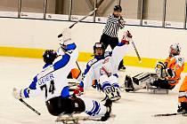 Sledge hokej: SKV Sharks K. Vary - SHK Lapp Zlín 1:3