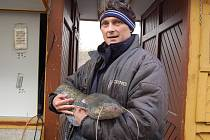 Prodejce ryb v Karlových Varech Aleš Doleček