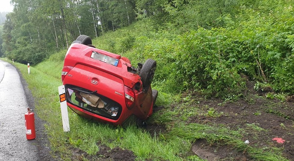 Nehody na silnici I/6