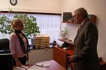 Bývalý hejtman Josef Pavel nastupuje do zaměstnání: na post generálního ředitele hotelu Thermal.