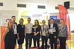 Úspěšné družstvo z logistické školy v Dalovicích.