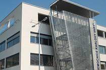 Nemocnice v Karlových Varech.