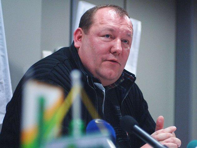 Majitel hokejového klubu Karel Holoubek.