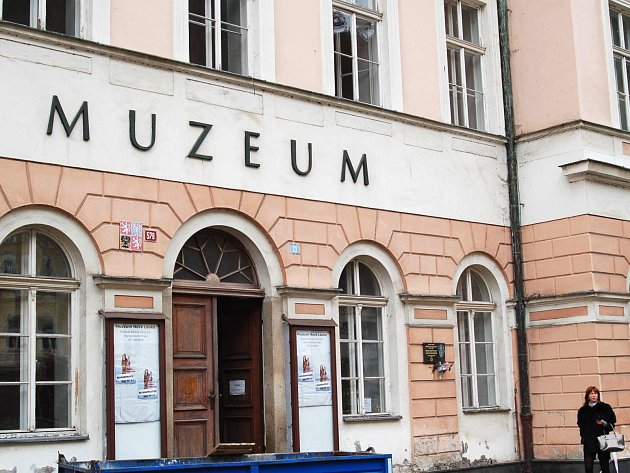 Karlovarské muzeum je v rekonstrukci.