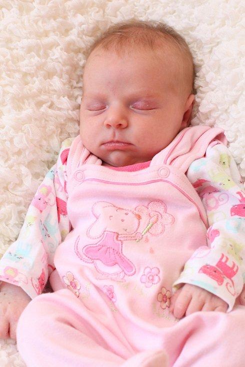 Bibianka Veselá z Karlových Varů se narodila 5. 6. 2013