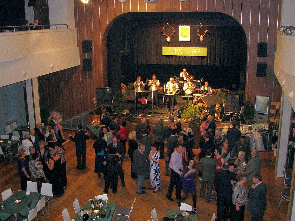 Myslivecký ples v Lidovém domě