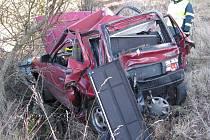 Dopravní  nehoda u Bochova na Karlovarsku