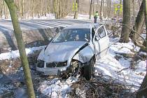 Dopravní nehoda u Damic