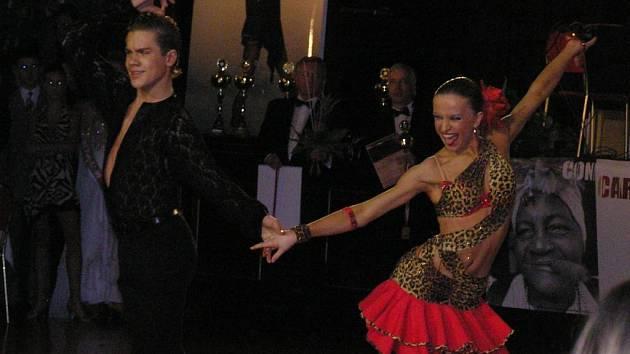 Karlovaračka Lenka Návorková dosáhla se svým tanečním partnerem Jakubem Drmotou už řady úspěchů v Čechách i zahraničí.
