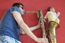 Sárinka Herejková (na snímku s tatínkem) se narodila 30. 4. 2013
