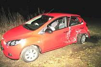 Na nedání přednosti v jízdě doplatila řidička osobního automobilu značky Mazda.