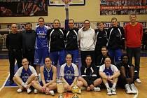 Vítěz finále Středoevropské ligy žen (CEWL) BK Inpek UKF Nitra.