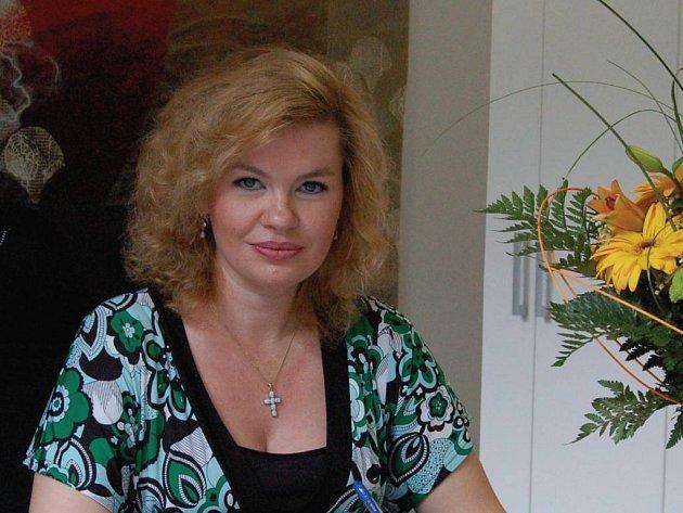 Veronika Vlková, primátorka města Karlovy Vary