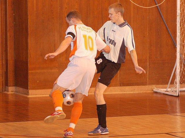 Futsal: Materia Sokolov vs. Lochotín.