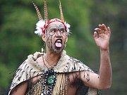 Folklórní festival přivábí různé typy lidí.