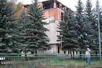 Bývalý hotel Ohře v Karlových Varech – Dalovicích.