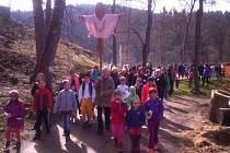 Vítání jara v Bečovské botanické zahradě.