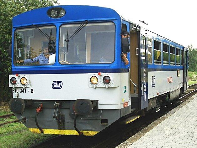 S víkendovým provozem na obnovené trati počítají ČD i nadále.