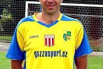 Trenér Spartaku Chodov Jiří Schveiner