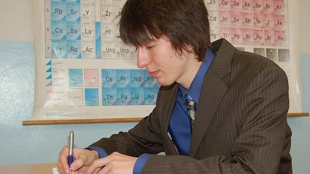 Přípravu na maturitní zkoušku nikdo ze studentů nepodcenil. Všichni se ve třídě učili do poslední chvíle.