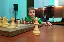 Sedmiletý Lukášek Zrůst dokáže porážet i své starší soupeře.