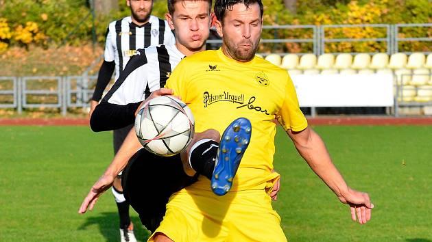 Poslední sezona , ta čeká v dresu mariánskolázeňské Viktorie útočníka a hrajícího asistenta Františka Nedbalého.