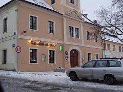 Žlutická radnice.