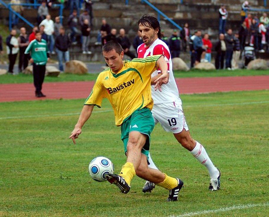 Karlovarská Slavia má před sebou druhý pohárový zápas s pražskou Slavií. V prvním podlehla Slavii po výsledku 1:1 až na pokutové kopy 4:5, jak si povede tentokrát?