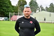 Marián Geňo, trenér FC Slavia Karlovy Vary.