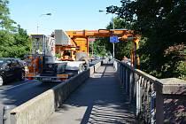 Provoz na mostech bude omezen.