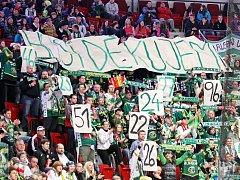 Fanoušci HC Energie.