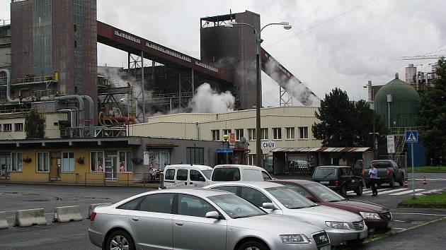 Palivový kombinát ve Vřesové na Sokolovsku