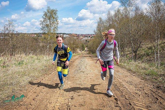 1/4 a 1/2maraton Okolo Meluzínky. Foto: Živé Sokolovsko