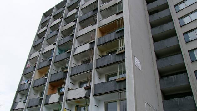 Drahomíra. Tato ubytovna potřebuje nákladnou rekonstrukci. Už podruhé. Nyní je poloprázdná.