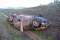 Škoda na vozidle Bentley je předběžně vyčíslena na částku 1 milion korun.