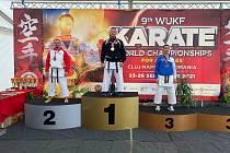 Karatisté Březové a Sokolova úspěšní na mistrovství světa.