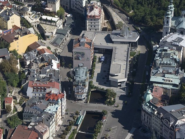 Lázeňské centrum Karlových Varů.